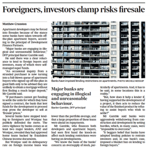 Foreigners, investors clamp risks firesale