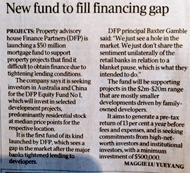 DFP Announces The Launch of $50 million Equity Fund - The Age