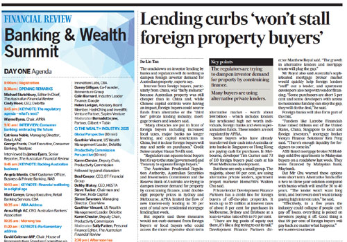 Financial-Review-Lending-curbs-wont-stall-foreign-buyers-April2017